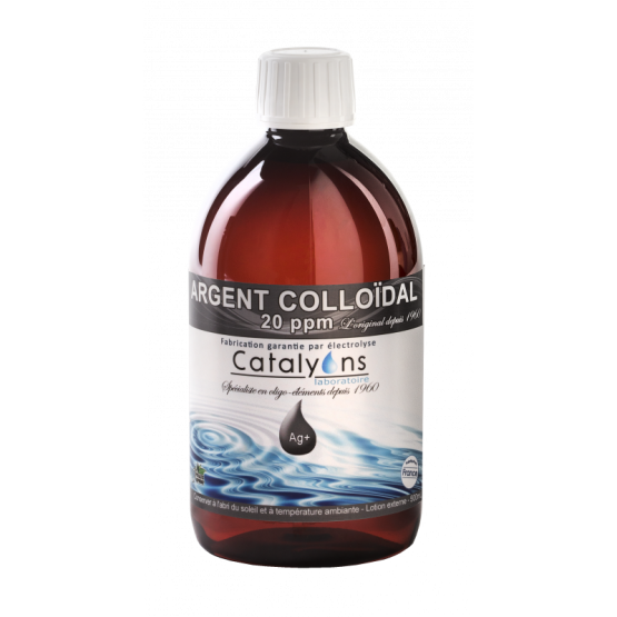 ARGENT COLLOIDAL 500ML Anti infection puissant