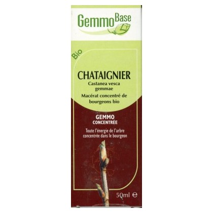 GEMMOBASE CHATAIGNIER BIO 50ML circulation