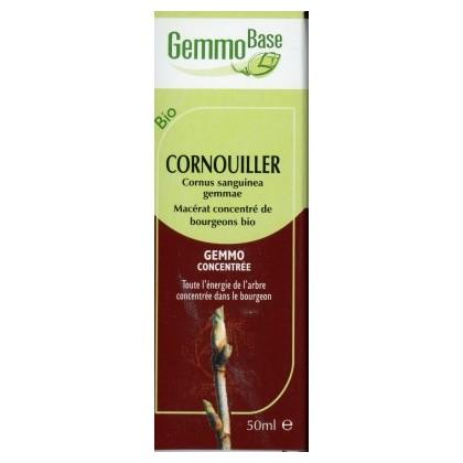 GEMMOBASE CORNOUILLIER BIO 50ML draineur-inflammation